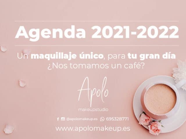Agenda 2021-2022 Apolo MakeUp
