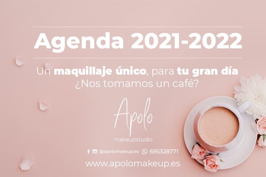 agenda apolo makeup 2021 2022